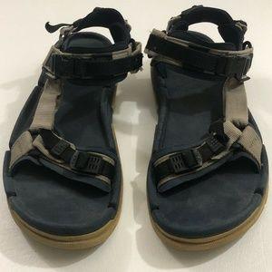 Teva Sport Sandals Men's Size 10 Blue Adjustable